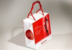 Shopping bag bauletto in carta manuale | FORMBAGS SpA