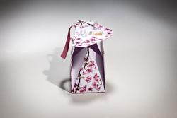 LUXURY HANDMADE PAPER PYRAMID GIFT BAG  | FORMBAGS SpA