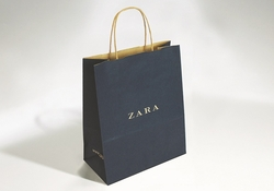 Shopping bag in carta senza risvolto | FORMBAGS SpA