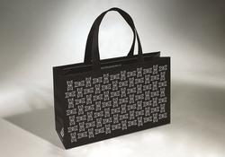 Shopping bag in carta manuale cucito | FORMBAGS SpA