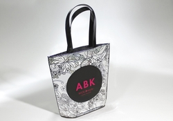Shopping bag in PE cucito senza soffietto laterale  | FORMBAGS SpA