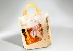 Shopping bag in plastica manico flessibile | FORMBAGS SpA