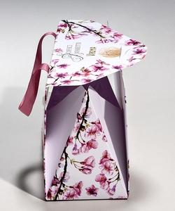 Shopping bag bauletto piramidale in carta manuale  | FORMBAGS SpA