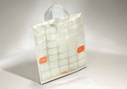 PLASTIC CARRIER BAG WITH SOFT HANDLES    FORMBAGS SpA