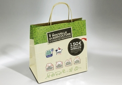 PAPER CARRIER BAG WITH COUPON | FORMBAGS SpA