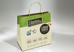 Bolsa en papel con cupón promocional | FORMBAGS SpA